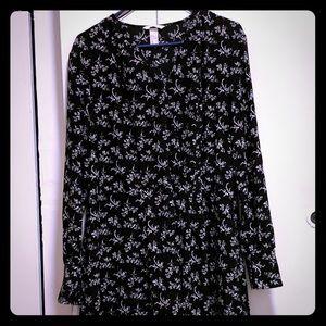 H&M Faux Wrap Modo Dress 16